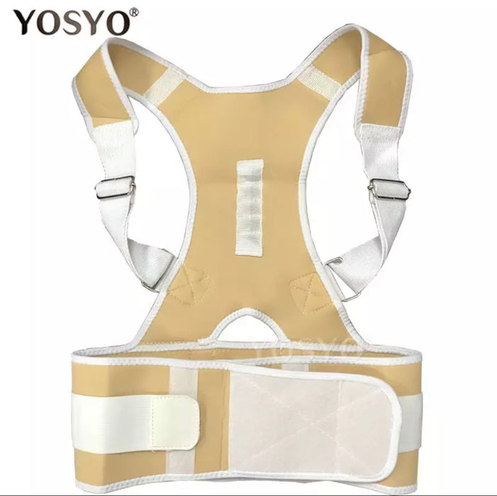 Magnetic Posture Corrective Therapy Back Brace For Men & Women - MyLunaShop