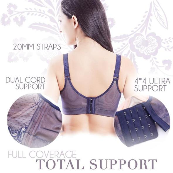 Lace Full-Coverage Bra - MyLunaShop