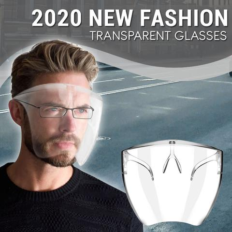 2020 Fashion Transparent Mask Glasses - MyLunaShop