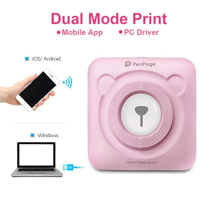 Portable Photo Printer - MyLunaShop
