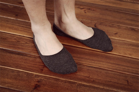 5 Pairs Mens invisible anti - skid, Summer Socks