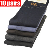 10 Pairs Mens Casual Compression Socks