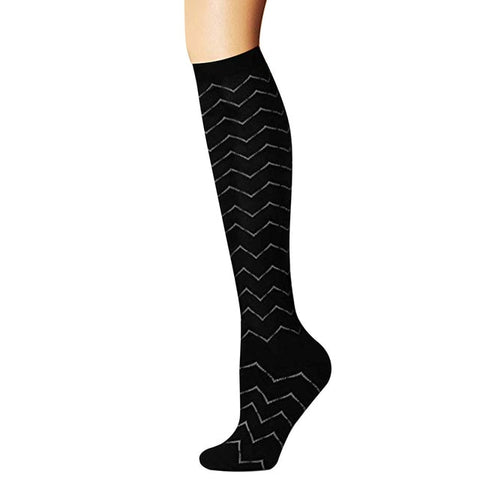 Unisex Medical Compression 15-20 Mmhg Graduated Socks