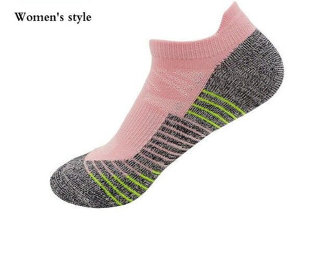 Women's Athletic Running Breathable Fitness Outdoors Non Skid Socks