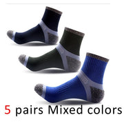 5 Pairs Mens Compression Work Socks