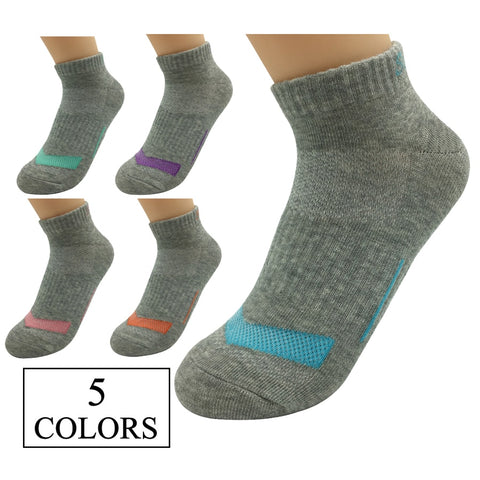5 Pairs Womens Running Compression Socks