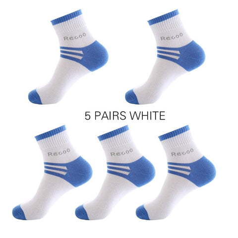 5 Pairs Mens Breathable Athletic Thick Winter Socks