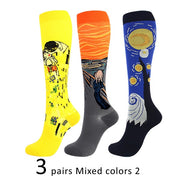 3 Pairs Mens 20-30 mmHg Compression Ortho Socks