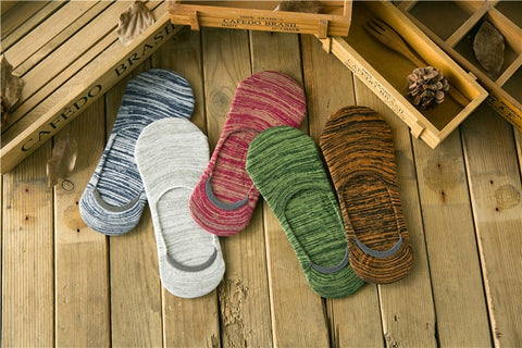 5 Pairs Mens Japanese style Summer cotton Socks