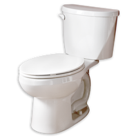 Evolution 2 Round Front Toilet Bowl & Tank - American Standard