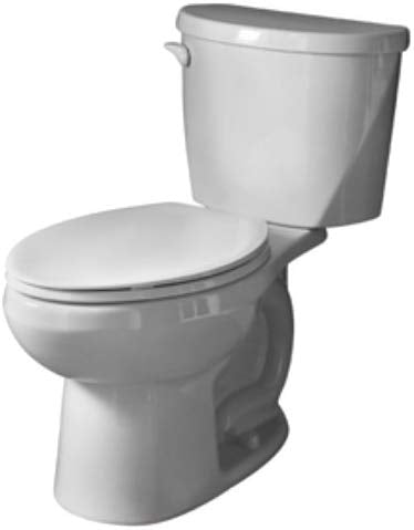 Evolution 2  Elongated Toilet Bowl & Tank - American Standard