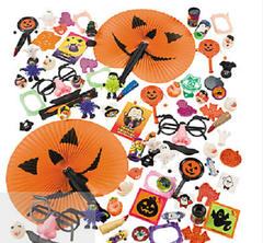 MEGA HALLOWEEN TREASURE CHEST TOY ASSORTMENT FOR FOOD ALLERGY TRICK OR TREATING - FREE INFO