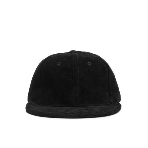 TOO BLACK GUYS x EBBETS FIELD SUEDE BASEBALL CAP