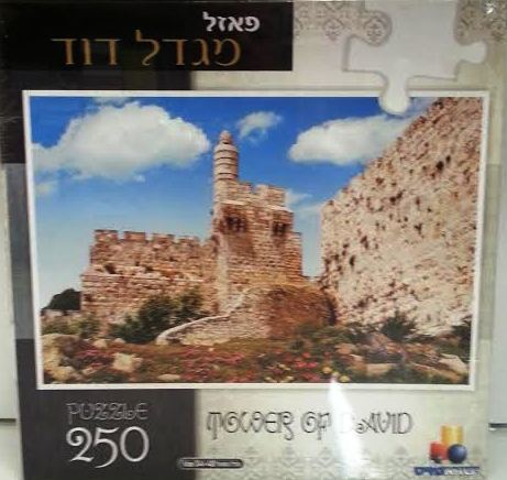 PUZZLE TOWER OF DAVID 250PC