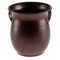Stainless Steel Washing Cup - Spotted Brown - 13 cm - UK56103