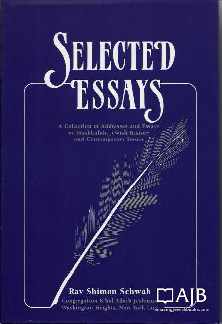 Selected Essays - Schwab