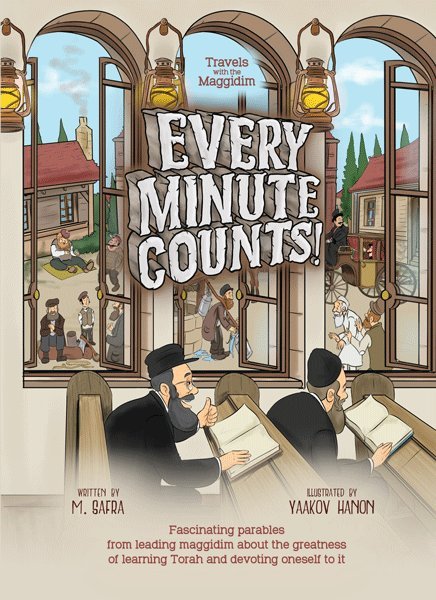 Every Minute Counts! - Travels with the Maggidim series