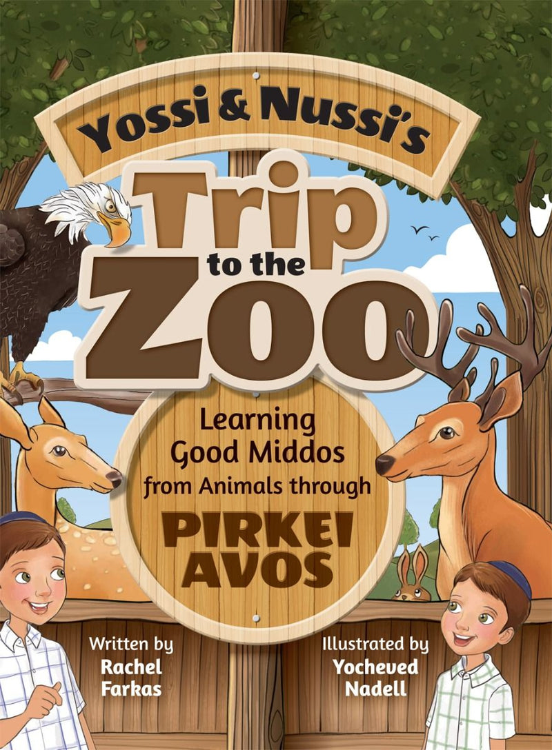 Yossi and Nussi's Trip to the Zoo