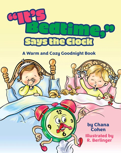 It's Bedtime,  Says the Clock