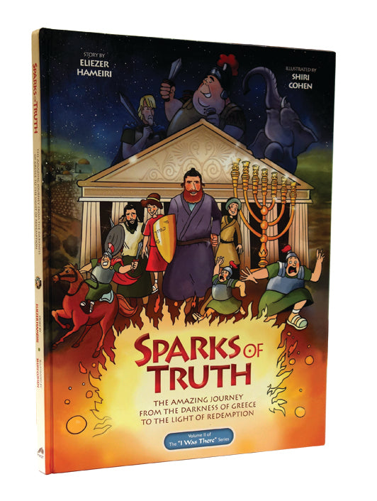Sparks of Truth - Comic - Chanukah