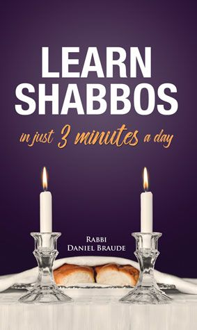 Learn Shabbos in Just 3 Minutes A Day