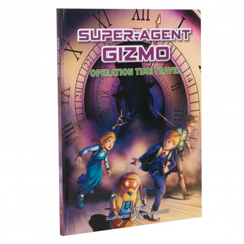 Super-Agent Gizmo Vol. 2 - Operation Time Travel - CIRCLE