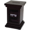 DARK BROWN TZEDAKAH BOX 13.5 CM