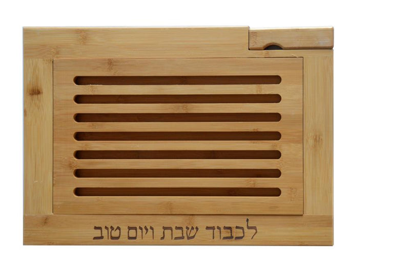 CHALLAH TRAY WITH KNIFE 2X41X28 CM