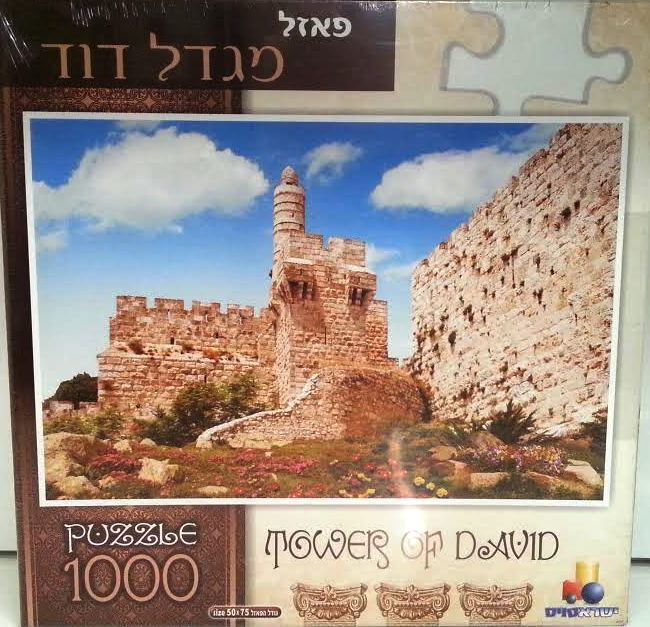 PUZZLE TOWER OF DAVID 1000PC