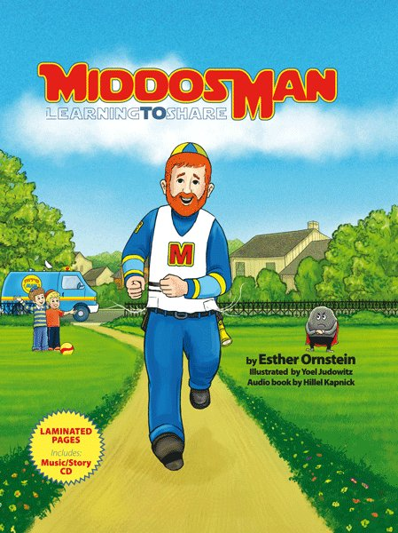Middos Man Vol. 1 - Book & CD - Learning to Share