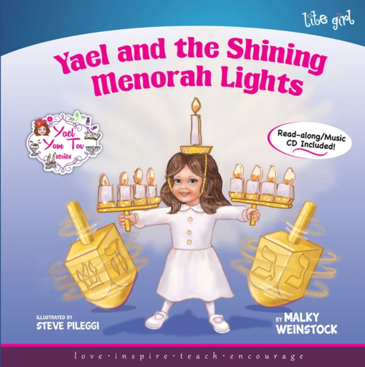 Yael and the Shining Menorah Lights