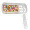 Clear Plastic Grogger for Filling Candy 12 cm