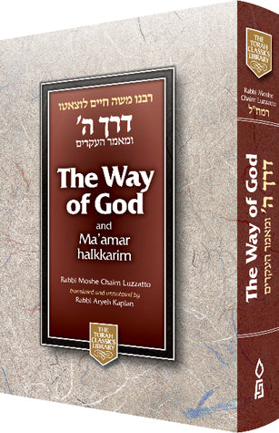 Way of God - Derech Hashem - Reg. ed. - f/s h/c