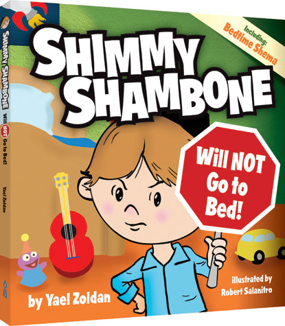 Shimmy Shambone Will NOT go to Bed - h/c