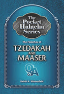Pocket Halacha - Tzedakah and Maaser - s/c