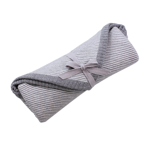 Cotton Jersey Baby Wrap / Grey