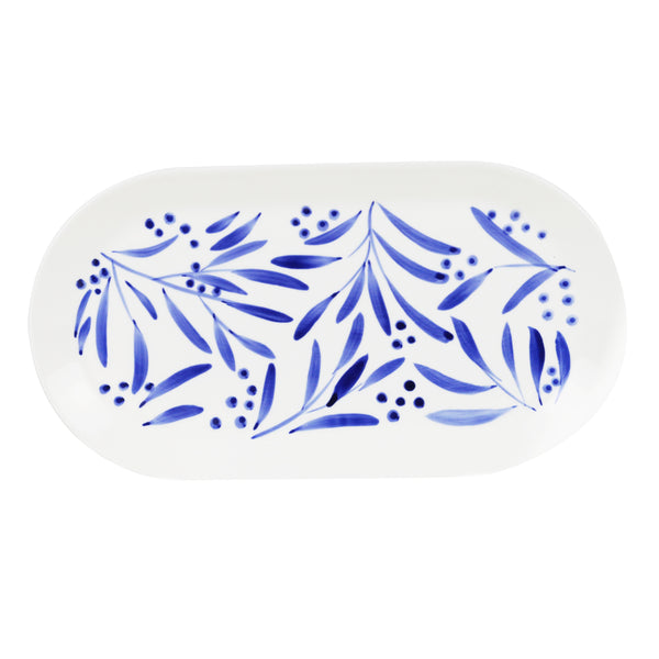 Wattle Hand Painted Tray