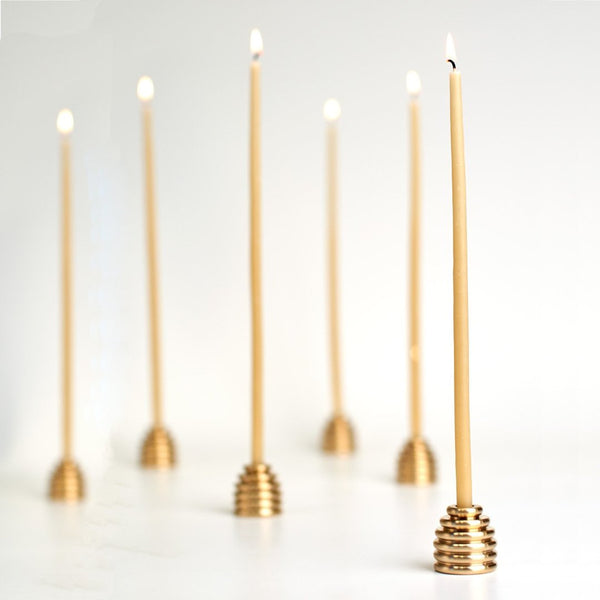 Beeswax Bee Light Candles / Bundle of 10