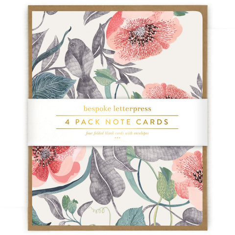 Note Card Set / Blomstra Bird