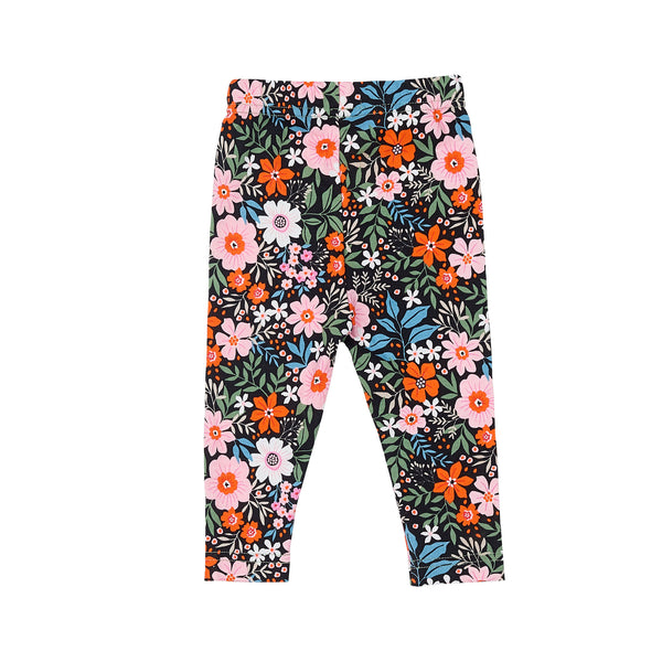 Cotton Leggings / Bloom