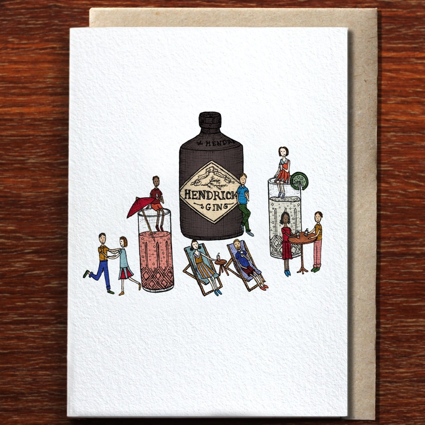 Greeting Card / Gin Party