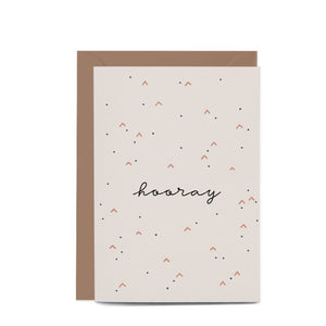 Greeting Card / Hooray
