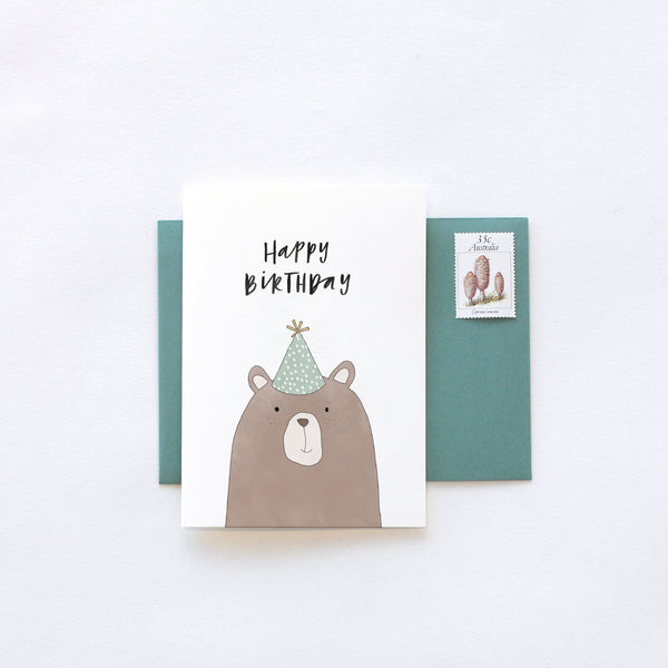 Greeting Card / Birthday Bear