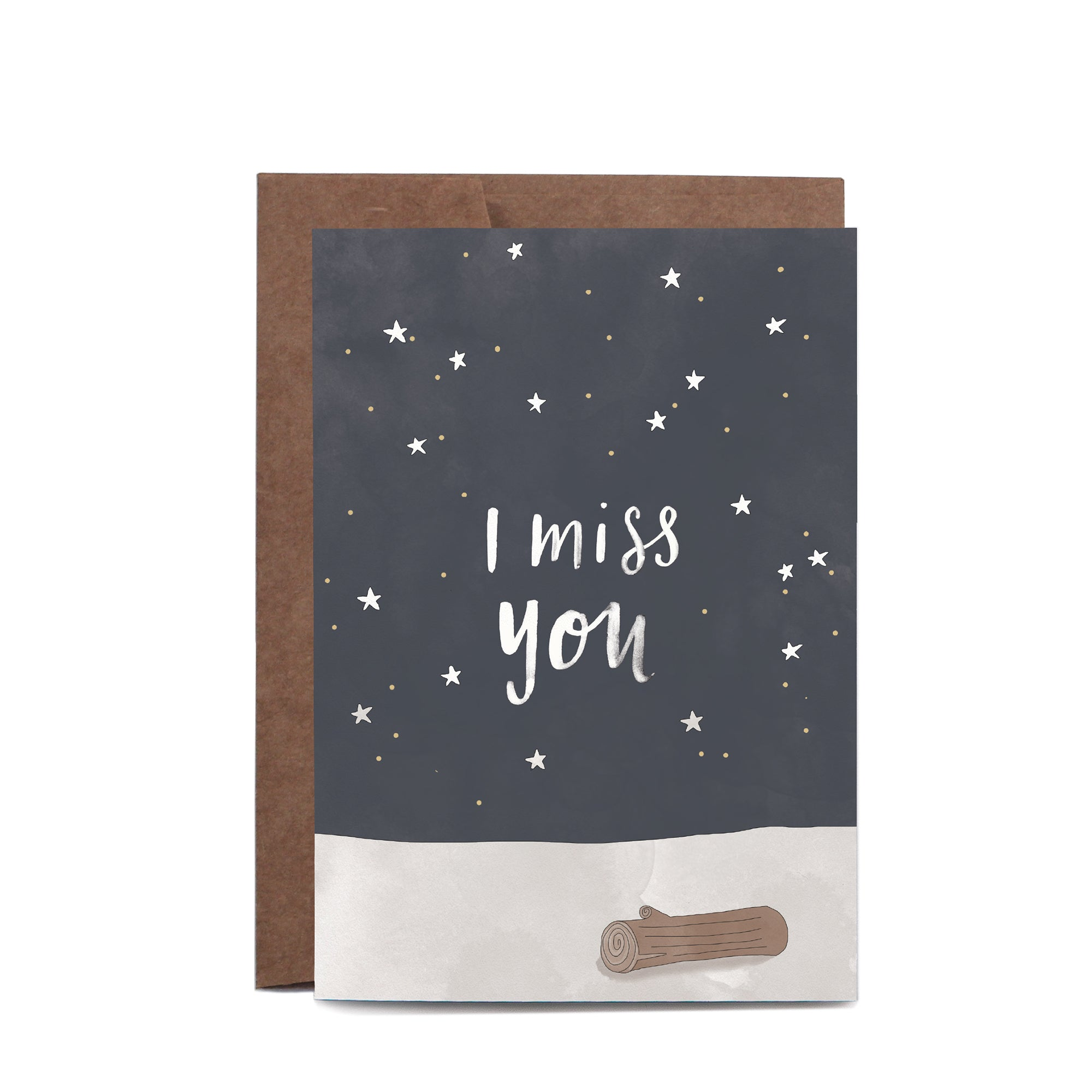 Greeting Card / I Miss You