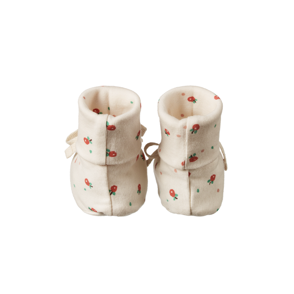 Cotton Booties / Posey Blossom