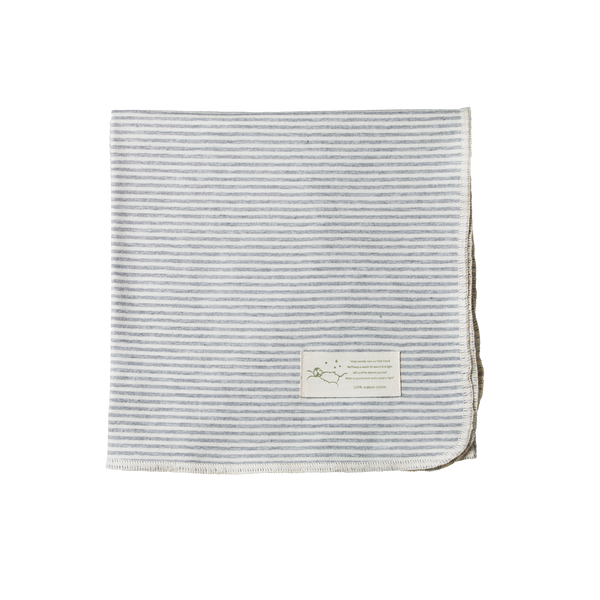 Cotton Wrap / Grey Stripe