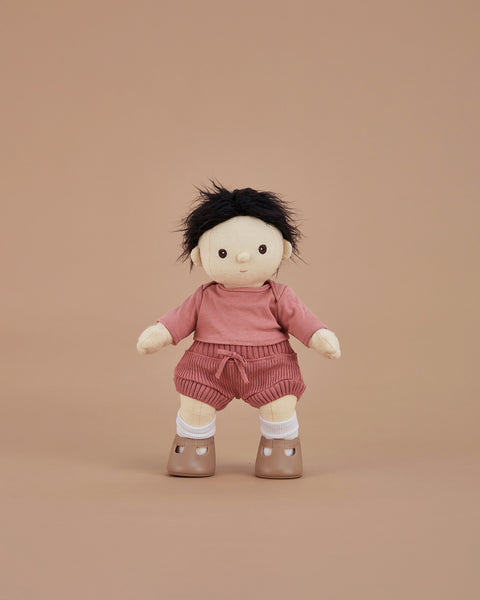 Dinkum Doll Snuggly Set / Berry