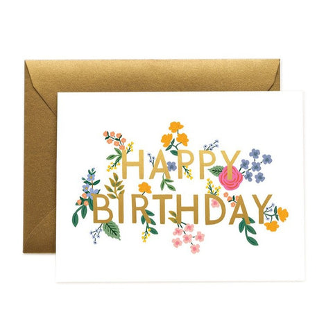Greeting Card / Wildwood Birthday