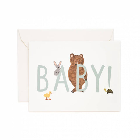 Greeting Card / Baby!