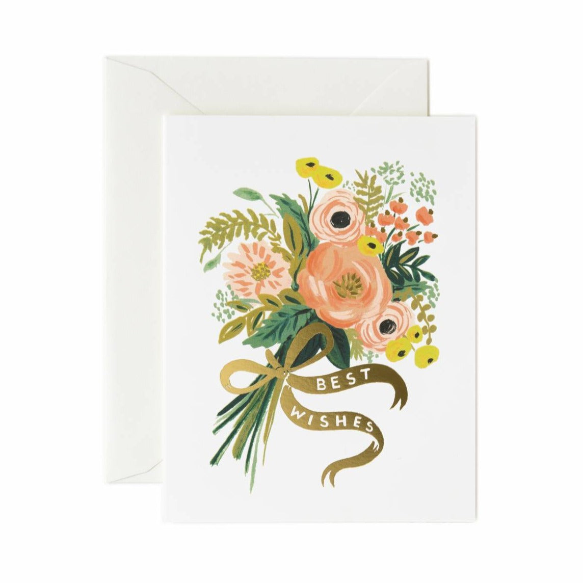Greeting Card / Best Wishes Bouquet